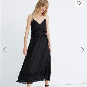 Madewell Shimmer Ruffle Dress
